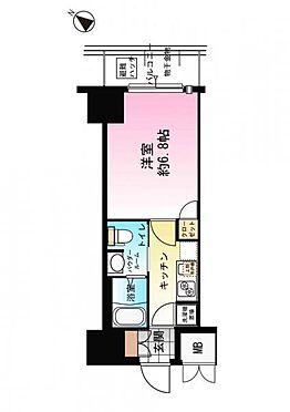 マンション(建物一部)-大阪市西区九条南3丁目 間取り
