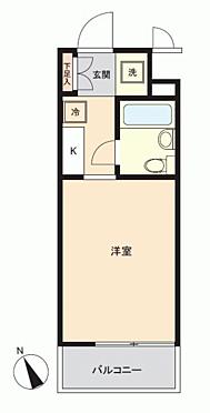 区分マンション-横浜市鶴見区岸谷3丁目 間取り