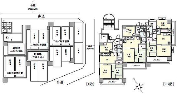 一棟マンション-平塚市八千代町 間取り