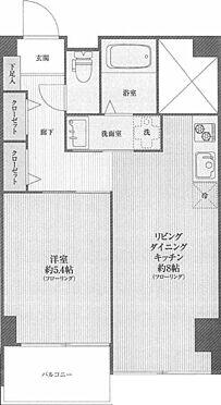 マンション(建物一部)-中野区本町4丁目 間取り