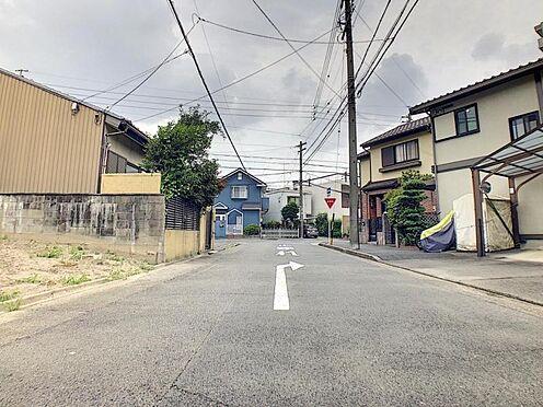戸建賃貸-名古屋市港区港陽1丁目 南西側公道幅員約7.8m!