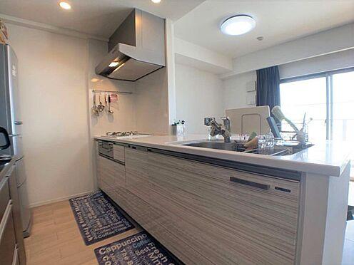 中古マンション-小牧市小牧2丁目 食洗機完備・豊富な収納がうれしいシステムキッチンです。
