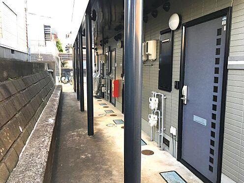 アパート-仙台市泉区永和台 1階共用廊下