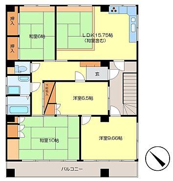 ビル(建物全部)-呉市吉浦東本町1丁目 3階住居図面 賃貸中