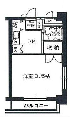 マンション(建物一部)-横浜市南区万世町1丁目 間取り