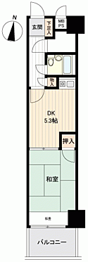 マンション(建物一部)-賀茂郡東伊豆町奈良本 間取り