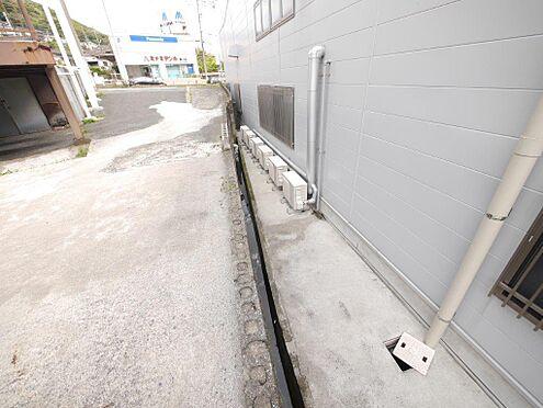店舗・事務所・その他-北九州市小倉北区霧ケ丘3丁目 南側の隣地との境界です。