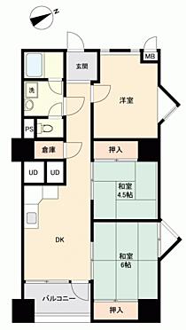 マンション(建物一部)-仙台市青葉区昭和町 間取り