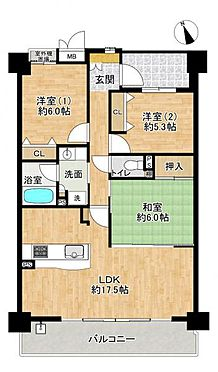 区分マンション-名古屋市西区南堀越1丁目 和室の続き間を合わせると約23.5帖の大空間リビングです!