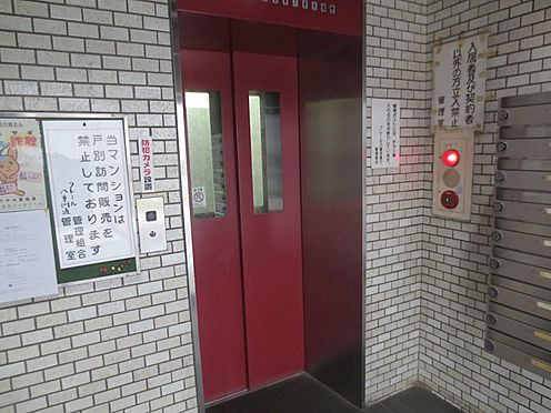 中古マンション-中央区新川2丁目 エレベーターホール