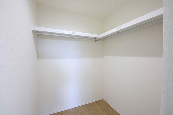 戸建賃貸-名古屋市千種区南ケ丘1丁目 季節ごとの入替え不要、頼もしいWICを設置。(同仕様)