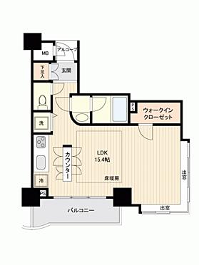 マンション(建物一部)-横浜市神奈川区栄町 間取り