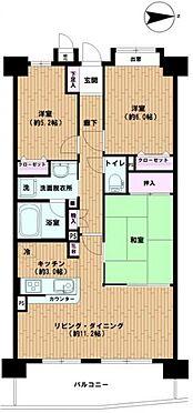 中古マンション-和光市新倉2丁目 間取り