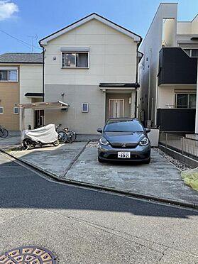 戸建賃貸-名古屋市中村区猪之越町1丁目 洗車も出来る余裕のあるスペース