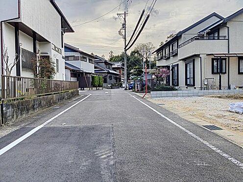 戸建賃貸-豊田市荒井町松島 前面道路幅員5.95m