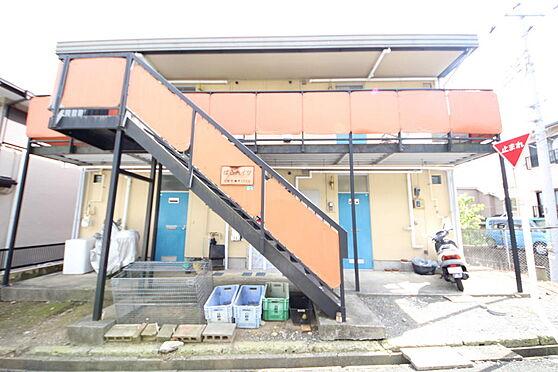 アパート-日野市三沢5丁目 京王線「高幡不動駅」まで徒歩18分、2DKが4戸入る一棟アパート。
