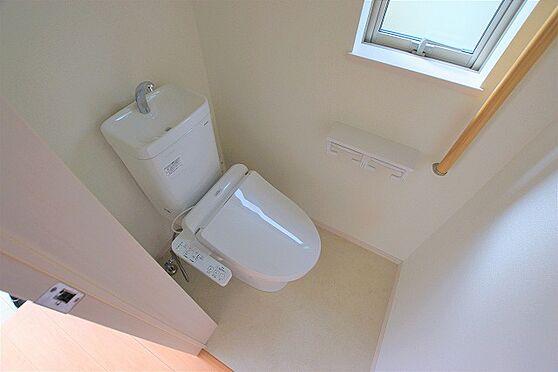 新築一戸建て-仙台市宮城野区岩切字堰下 トイレ