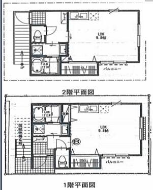 アパート-神戸市長田区庄田町3丁目 間取り