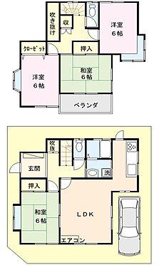 戸建賃貸-熊谷市江南中央3丁目 図面と相違する場合は現況を優先致します。