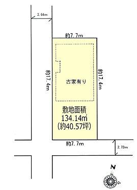 土地-東大和市南街5丁目 区画図