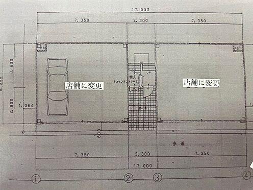 マンション(建物全部)-泉大津市北豊中町2丁目 1階図面