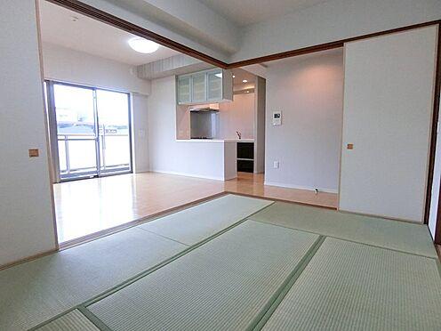 中古マンション-八王子市松木 和室6畳 寝室スペースとしても使えます