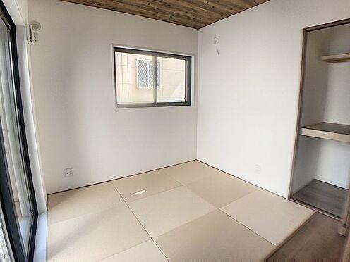 戸建賃貸-西尾市吉良町木田祐言 リビング隣の和室は、家事スペースやお子様の遊び場としても使えます!