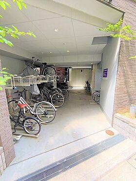中古マンション-中央区日本橋箱崎町 自転車置場