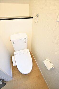 新築一戸建て-仙台市青葉区子平町 トイレ