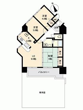 マンション(建物一部)-姫路市町坪 間取り