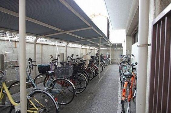 マンション(建物一部)-大阪市住吉区遠里小野5丁目 ゆとりある駐輪スペース