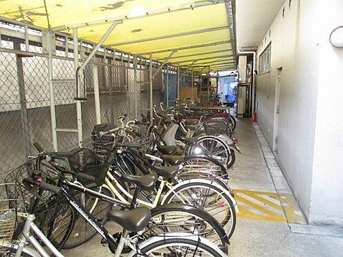 中古マンション-大阪市生野区新今里3丁目 屋根付き駐輪場は雨の日も乗り降り楽々です