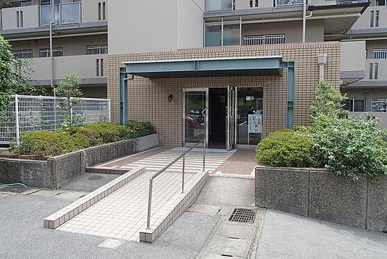 マンション(建物一部)-神戸市西区伊川谷町有瀬 植栽が植わるアプローチ