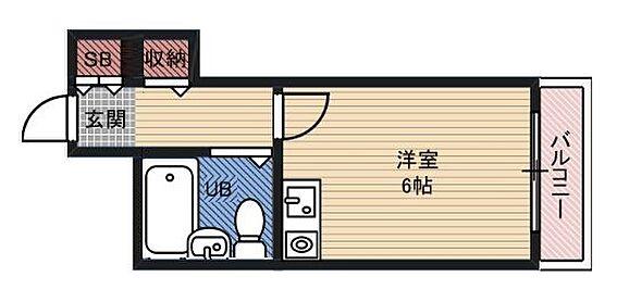 マンション(建物一部)-大阪市都島区内代町3丁目 収納スペースを確保したワンルーム