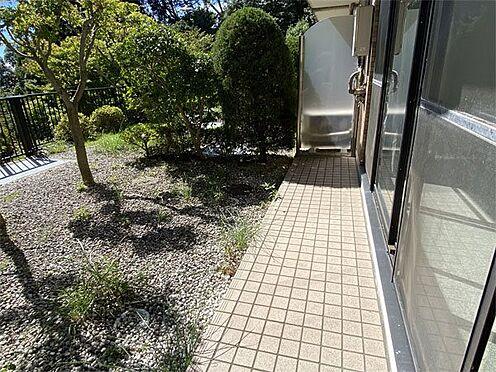 中古マンション-伊東市八幡野 【テラス】日当たりのよいテラスです。