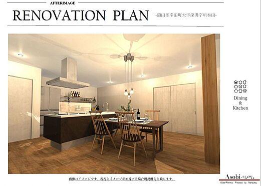 中古一戸建て-額田郡幸田町大字深溝字明本田 開放的な広々とした空間の玄関です。