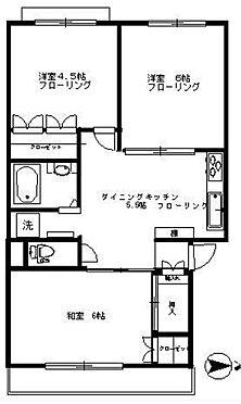 マンション(建物一部)-練馬区貫井1丁目 間取り