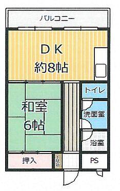 区分マンション-京都市山科区東野門口町 人気の3点セパレート