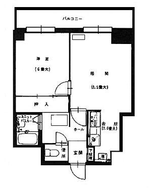 マンション(建物一部)-札幌市豊平区中の島二条2丁目 間取り