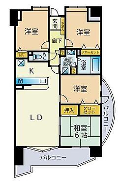マンション(建物一部)-北九州市若松区修多羅2丁目 2021年2月水回り・内装リフォーム済み。