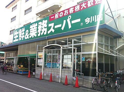 一棟マンション-大阪市東住吉区今川7丁目 業務スーパー今川店まで約495mです。