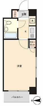 区分マンション-横浜市金沢区富岡東1丁目 間取り