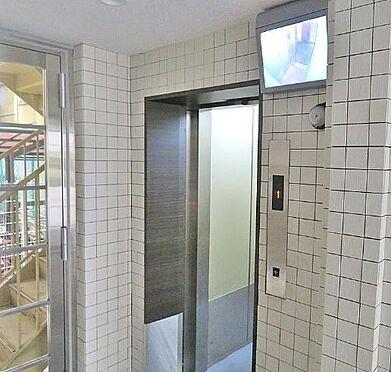 区分マンション-大阪市北区天神橋7丁目 エレベーターは防犯モニター搭載