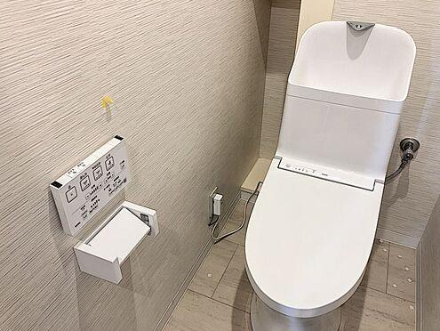 区分マンション-豊田市山之手8丁目 トイレも新品交換済み!綺麗な状態でお使いいただけます。