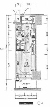 マンション(建物一部)-大阪市中央区南船場1丁目 間取り