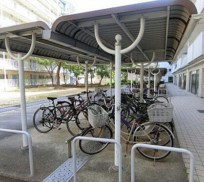 区分マンション-京都市山科区東野門口町 屋根付き駐輪場
