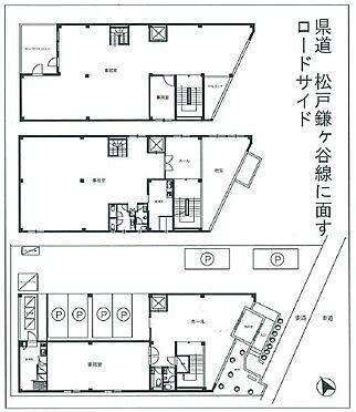 ビル(建物全部)-松戸市松戸新田 間取り図