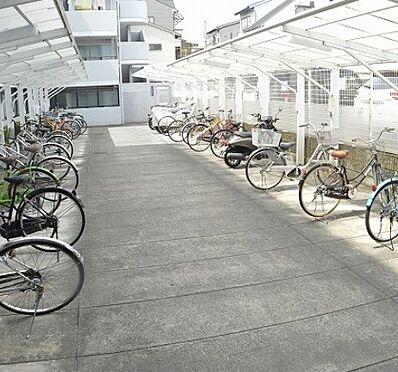 区分マンション-京都市右京区西院西高田町 屋根付き駐輪場・バイク置き場