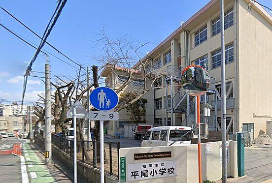区分マンション-福岡市中央区浄水通 福岡市立平尾小学校。320m。