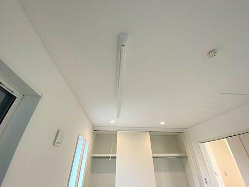 戸建賃貸-八王子市松木 2階、室内物干し